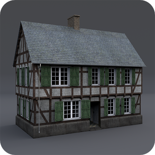 small icon Medieval Half Timbered Houses unity asset store asset pack over 100 materials 3d art houses barns props